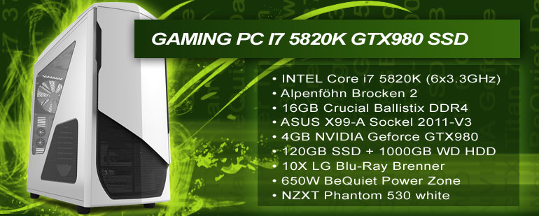 AW GamePower i7 3930K HD7950