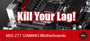 MSI Z77 GAMING Motherboard